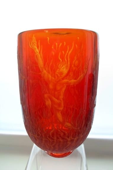 Firedancer vase